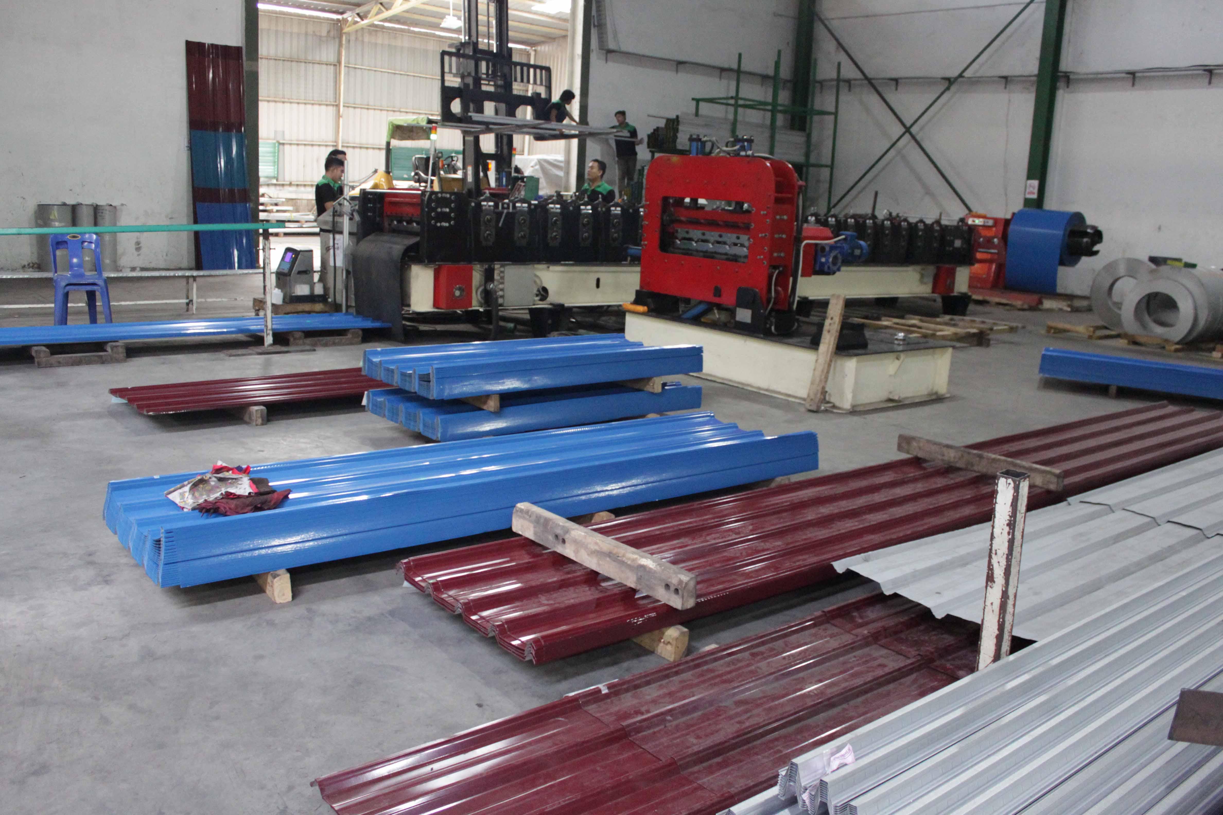 Pabrik Baja Ringan BLKP Batam